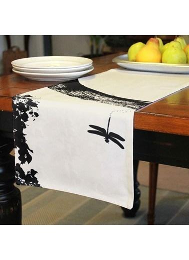Artikel Yusufçuk ve Sinek Kuşu Runner Masa Örtüsü 43,5x141,5cm Renkli